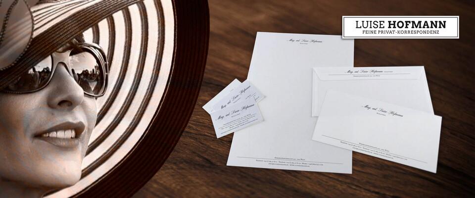 Individuelles Briefpapier Und Feinpost Selbst Gestalten